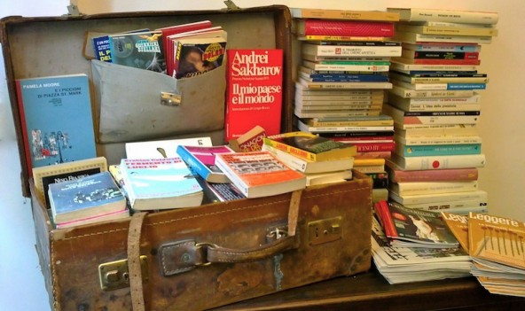 Che libri (o artifici)metto in valigia?